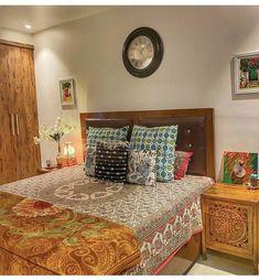 Home Room Design, Dream Home Design, House Design, Ethnic Home Decor, Room Goals, House Rooms, Bedroom Decor, Bedroom Ideas, Clean House