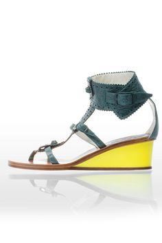 Balenciaga wedge sandals, Spring 2011