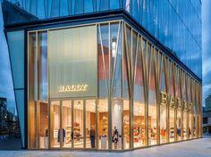 Tokyo retail facade, shop facade, mall facade, retail architecture, com Design Exterior, Facade Design, Shop Interior Design, Retail Design, Retail Architecture, Commercial Architecture, Architecture Design, Design Café, Store Design