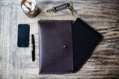Lewis Leather Envelope by R. Riveter