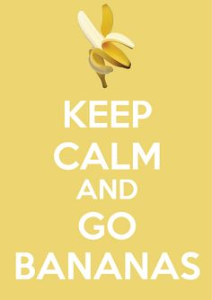Go bananas! My kiddos would love this!!