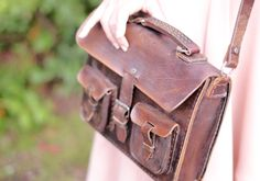 adorable satchel from Rosapina Vintage