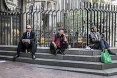 Three Gentlemen, Market Street by Jim Watkins on 500px