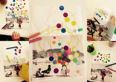 les petites têtes de l'art: Dessin d'accueil sur photocopie