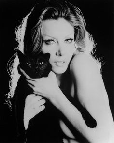 Ingrid Pitt.  I met her a few times at Memorabilia events, she was so gracious and lovely.