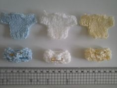 New Baby Jumpers & Nappies Toppers / Embellishments FREE UK P&P  Ebay id cathys987