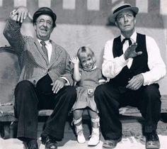 Ed Wynn and Buster Keaton
