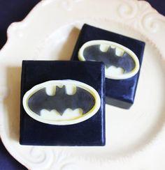 Black Cherry Superhero Batman Soap