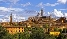 Siena Skyline.........Italy