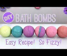 Ideas bath bombs fizzy diy spa for 2019 Diy Bath Bombs Easy, Homemade Bath Bombs, Making Bath Bombs, Homemade Bubbles, Diy Spa, Boho Lifestyle, Bath Boms Diy, Bath Balms, Diy Unicorn