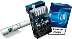L & Marlboro convertible  filter cigarette