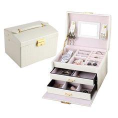 Jewelry Box Exquisite Makeup Case Jewelry Organizer Casket