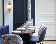 In a quiet side street between Rue Montorgueil and Rue Montmartre you will find the new Hotel Bachaumont. And it's so new that the restaurant...
