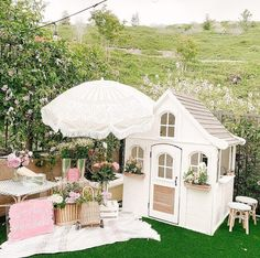 Backyard Playhouses for Sale . Backyard Playhouses for Sale . Costco Playhouse Hack How to Transform An Outdoor Cedar Costco Playhouse, Playhouse Decor, Playhouse Interior, Backyard Playhouse, Build A Playhouse, Backyard Playground, Backyard For Kids, Playhouse Ideas, Kids Wooden Playhouse