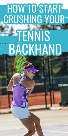 If you are a beginner tennis player and are looking to get a more powerful backhand groundstroke then you need to try these tips and tricks.  Learn everything you need to know about how to hit a backhand in tennis. Real Tennis, Tennis Tips, Professional Tennis Players, Tennis Workout, Tennis Match, Good Grips, Tennis Racket, Need To Know, Drill
