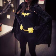 DIY Batgirl costume for Halloween 2012