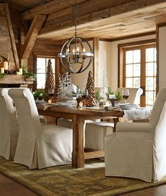 Set the table for good tidings and cheer this season.
