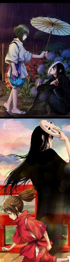 No Face (Spirited Away) <3