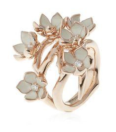 Full Cherry Blossom Ring