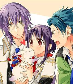 Kamigami No Asobi!!! Kawaii!!!!! XD I love the look on the boy's faces!