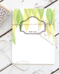 For You Card by Stephanie Gold for Papertrey Ink (February 2018)