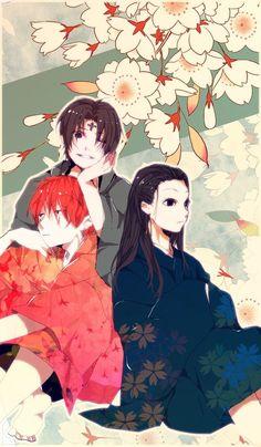Chrollo, Hisoka, and Illumi     ~Hunter X Hunter