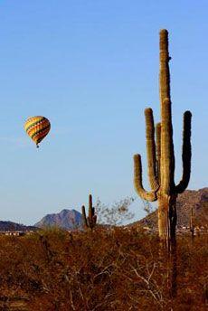 BALLOON RIDES DAILY: Albuquerque – Phoenix – Scottsdale