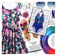 """""""Colorful and Fun"""" by vanjazivadinovic ❤ liked on Polyvore featuring Elina Linardaki, Christian Dior, Gucci, polyvoreeditorial and twinkledeals"""