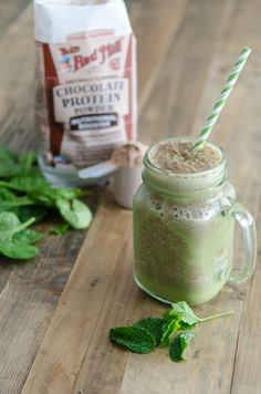 Trust us on this one, mint and chocolate sounds weird for a smoothie, but it's like drinking a thin mint! If you're craving a sweet treat, but want to keep your healthy resolutions on track, this is a great way to indulge.