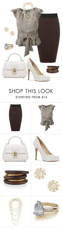 """""""Dark Chocolate"""" by sommer-reign ❤ liked on Polyvore featuring WearAll, Guild Prime, Dolce&Gabbana, Jessica Simpson, NEST Jewelry, Bony Levy, Chanel and plus size clothing"""