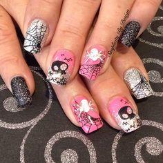 Day 303: Textured Glitter Nail Art - Nails Magazine