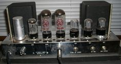 Ampeg B-15. I played this in a basement long ago. Wonder if it's still there?