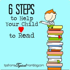 Teach your child how to love to read with these six simple steps you can do at home. These are great tips for early readers. #RSKids #MC #sponsored