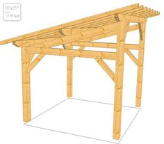 1000 images about abris bois et buches on pinterest firewood shed micro h - Construire un gazebo ...