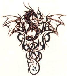 199 best dragon tattoo