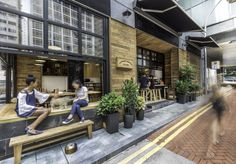 Elephant Grounds Coffee on Star Street by James JJ Acuna of JJA, Hong Kong »…