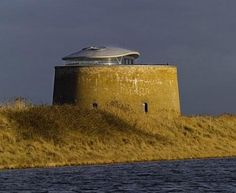 Ancient Fortress Transformed into a Defensible Tower Home