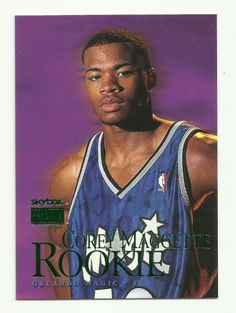 1999 Skybox Premium Corey Maggette Rookie Basketball Card Orlando Magic #113 RC