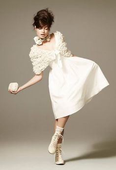 quirky bridal style - Bing Images