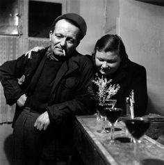 Le mimosa 1952 |¤ Robert Doisneau | 12 mai 2015 | Atelier Robert Doisneau | Site officiel