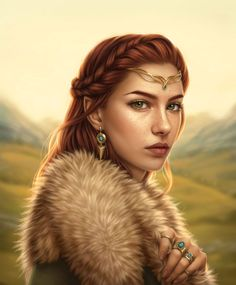 Digital painting portrait of an Elven maiden Create a compelling fantasy character in Photoshop with these 14 steps. Fantasy Artwork, Fantasy Portraits, Character Portraits, Fantasy Paintings, Fantasy Girl, Fantasy Women, Fantasy Princess, Fantasy Forest, Medieval Fantasy