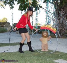 Lion Tamer Family Halloween Costume - Photo 2/5