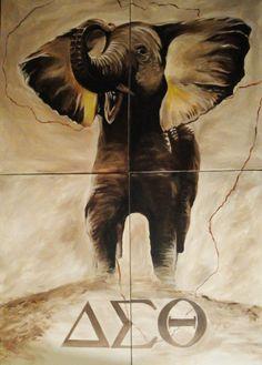 Delta+Sigma+Theta+Elephant | Delta Sigma Theta Elephant