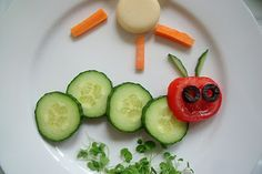 Very Hungry Caterpillar Snack via @MakeDoAndFriend
