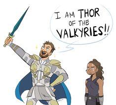 Thor: Ragnarok || Valkyrie