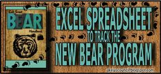 This Bear Advancement Excel Spreadsheet is aworkbook of FREE spreadsheets developed by Todd M. Lynch, a Cubmaster for Pack 444 from...