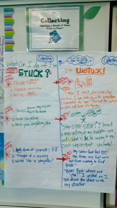 Narrative Writing Collecting Stage: 3rd Grade