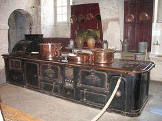 Château de Valençay (indre) - cuisinière