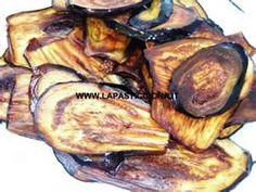 Melenzane fritte - fried eggplant
