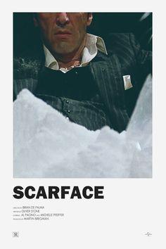 Scarface alternative movie poster Visit my Store